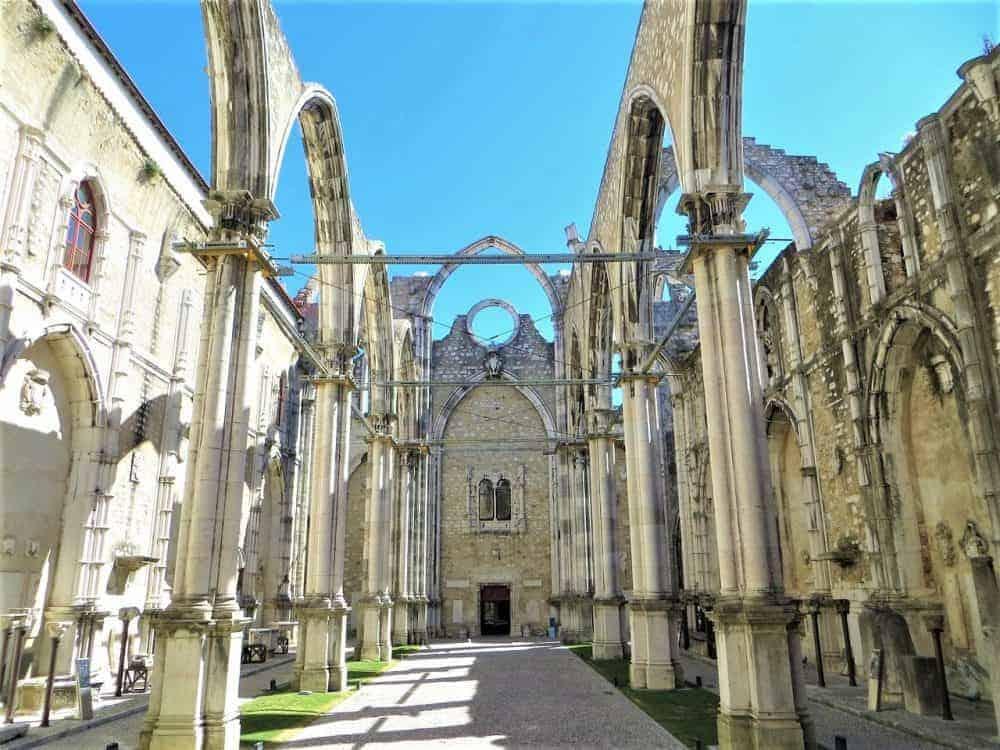 Carmo_Convent Lissabon Portugal